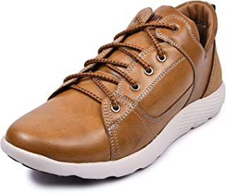 Andrew Scott Men's Leather Sneaker