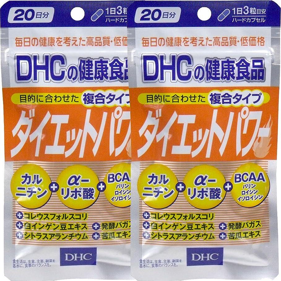 混乱ビジネス生き物DHC ダイエットパワー 20日分 60粒 ×2個セット