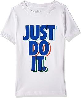 Nike Boy's Jdi Stack T-Shirt, Blue (Obsidian)