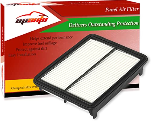 lowest EPAuto GP468 (CA10468) Replacement for Honda/Acura Extra Guard high quality Rigid Panel Air Filter for Accord V6(2008-2012), Accord popular Crosstour(2010-2011), Crosstour V6(2012-2015), TL(2009-2014), TSX V6(2010-2014) outlet sale