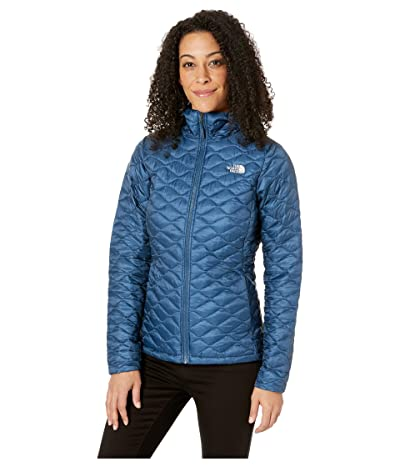 The North Face ThermoBalltm Hoodie (Blue Wing Teal/Blue Wing Teal Joshua Tree Print) Women