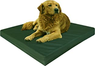 Dogbed4less Premium Orthopedic Memory Foam Dog Bed   Waterproof Liner, Washable Durable Canvas Cover and Bonus 2nd External Case, 7 Sizes