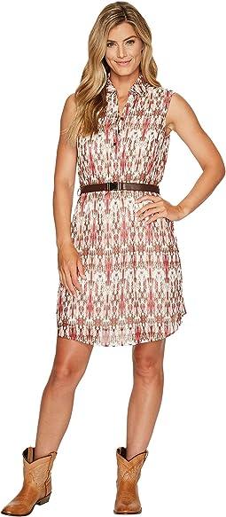 Wrangler - Sleeveless Dress with Belt