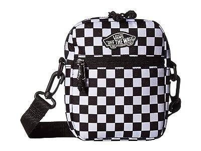 Vans Street Ready II Crossbody (Black/White Checkerboard) Handbags