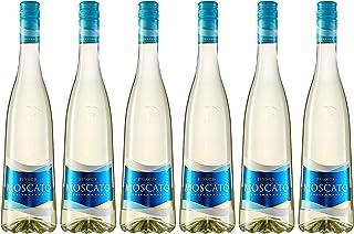 Pinord Moscato Mediterráneo Frizzante - Paquete de 6 x 750 ml - Total: 4500 ml (8410631941108)
