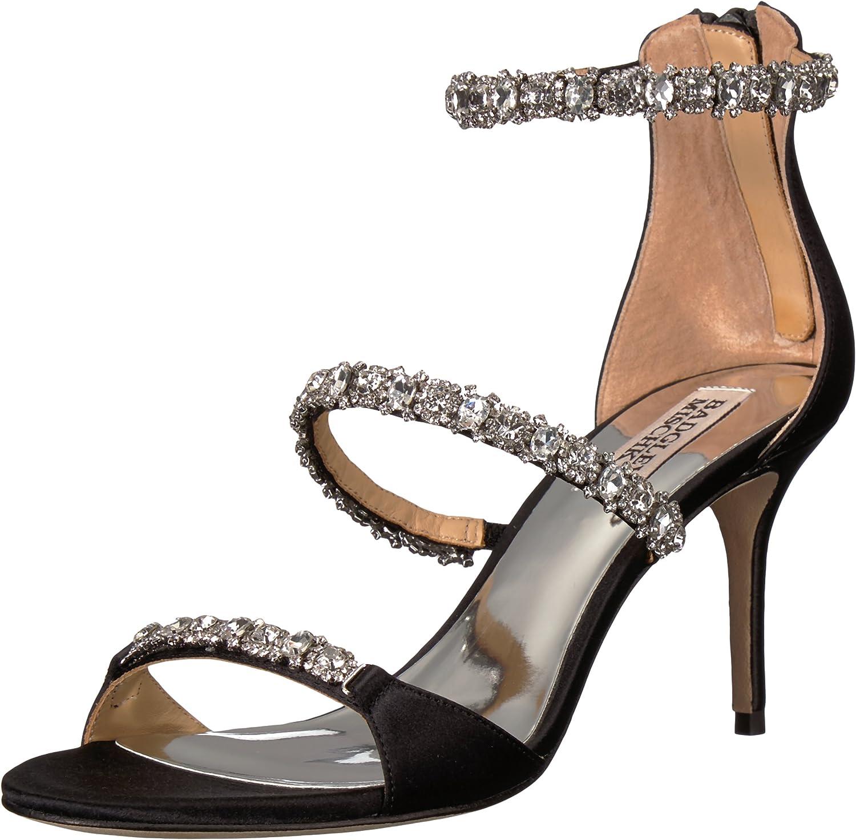 Badgley Mischka Womens Yasmine Heeled Sandal