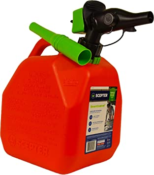Scepter FR1G252 Gas Can, Red, 2 gallon: image