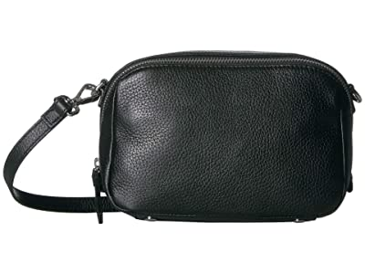 ECCO SP 3 Medium Boxy (Black 1) Wristlet Handbags