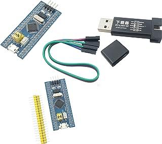 initeq] STM32 ARM STM32F103C8T6 Blue Pill Minimum System Development Board with ST-Link V2 USB Programmer (2-Pack + ST-Link V2)
