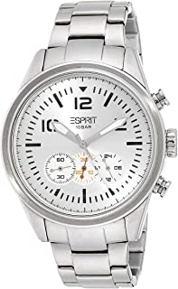 (Renewed) Esprit Analog White Dial Mens Watch - ES106321004#CR