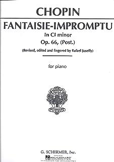 Frederic Chopin Fantasie Impromptu In C Sharp Minor Op.66 (Piano) Pf