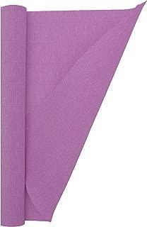 Crepe Paper Roll, Premium Italian Heavy 180 g, 13.3 sqft, Lilla