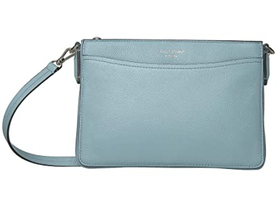 Kate Spade New York Margaux Medium Convertible Crossbody (Frosted Spearmint) Handbags