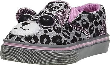 Jump A Roos Sneakers for Girls; Cute Slip On Girls Sneakers