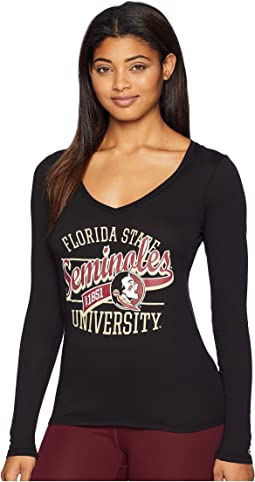 Florida State Seminoles Long Sleeve V-Neck Tee