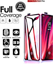 Aeidess Edge to Edge Full Glue Tempered Glass Screen Protector Compatible withXiaomi Redmi K20 / K20 Pro - Black