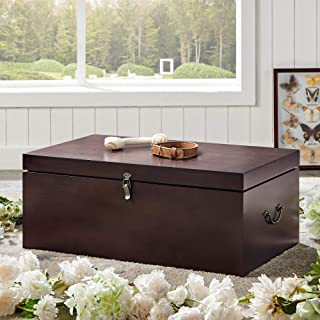Premium Wood Pet Coffin (Large) - Hand Crafted Pet Casket Suitable for Dogs, Cats and Other Furry Friends