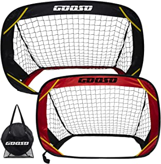 Soccer Goals, Training Soccer Goal Nets Set of 2 Soccer...