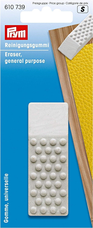 Prym 610739 Eraser General Purpose Store mm 70 x 25 Superlatite White