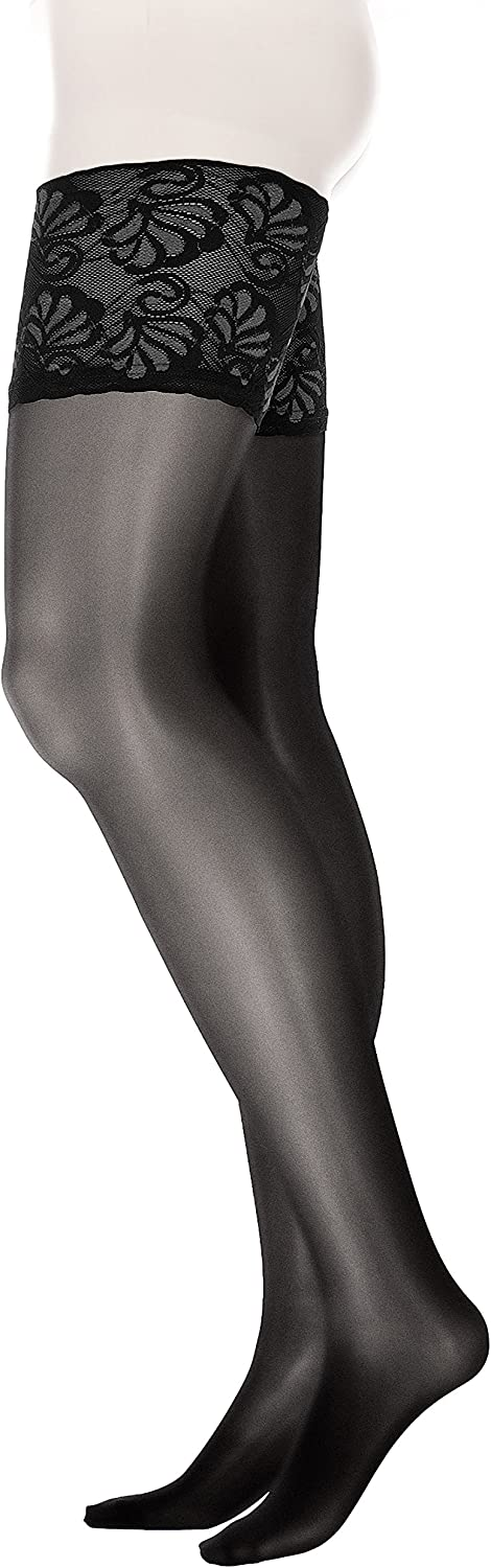 Glamory Women's Deluxe 20 Plus Size Thigh Highs