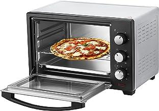 Mini four 25 l | Mini four | Four à pizza | Four 3 en 1 | Plaque ramasse-miettes | Chaleur voûte/inférieure | Convection |...