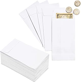 Juvale 100-Pack Money Envelopes for Cash, Coins, Budgeting, Gifts, 3.5 x 6.5 Inches