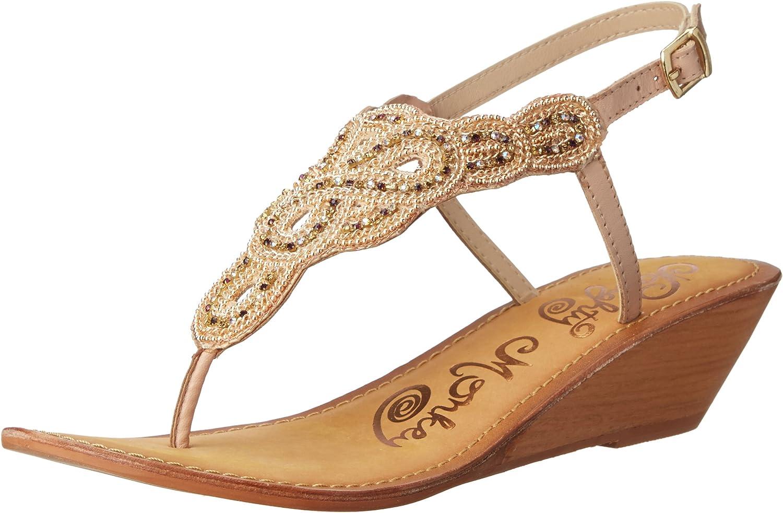 Naughty Monkey Women's Sweet Treat Wedge Sandal