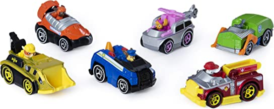 Paw Patrol, True Metal Classic Gift Pack of 6 Collectible DIE-CAST Vehicles, 1: 55 Scale