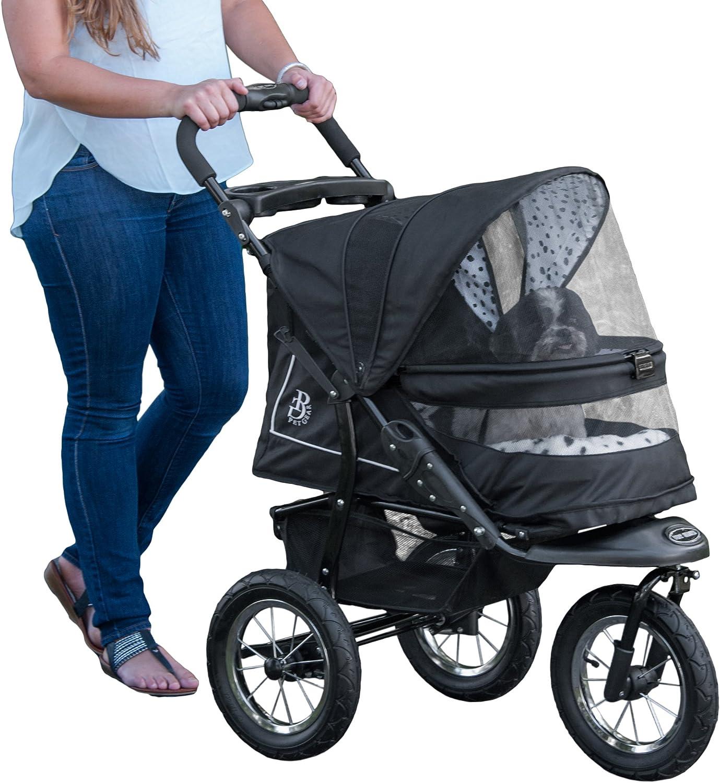 Pet Gear NoZip NV Pet Stroller, Zipperless Entry, Dalmatian
