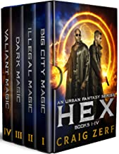 HEX - the entire 4 book series. An Urban Fantasy Box set