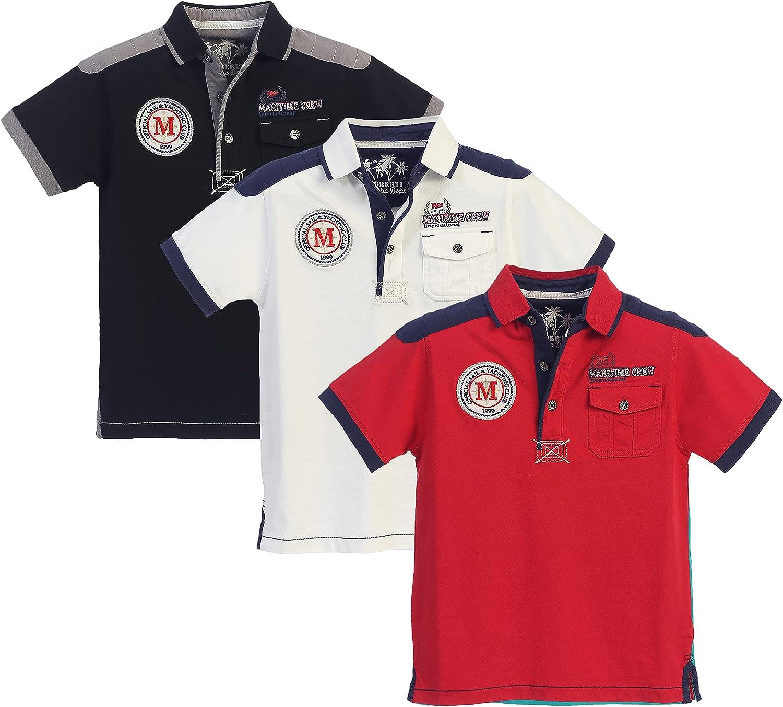 Gioberti Kids and Boys 100% Cotton Polo Shirt