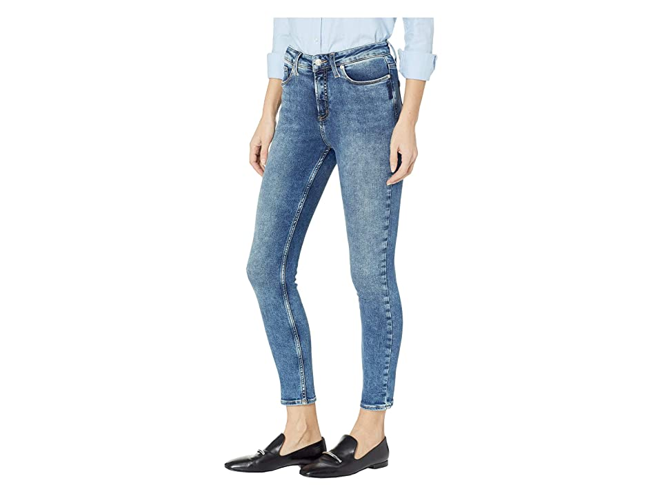 Silver Jeans Co. High Note High-Rise Skinny Leg Jeans in Indigo L64027SSX266 (Indigo) Women's Jeans, Blue
