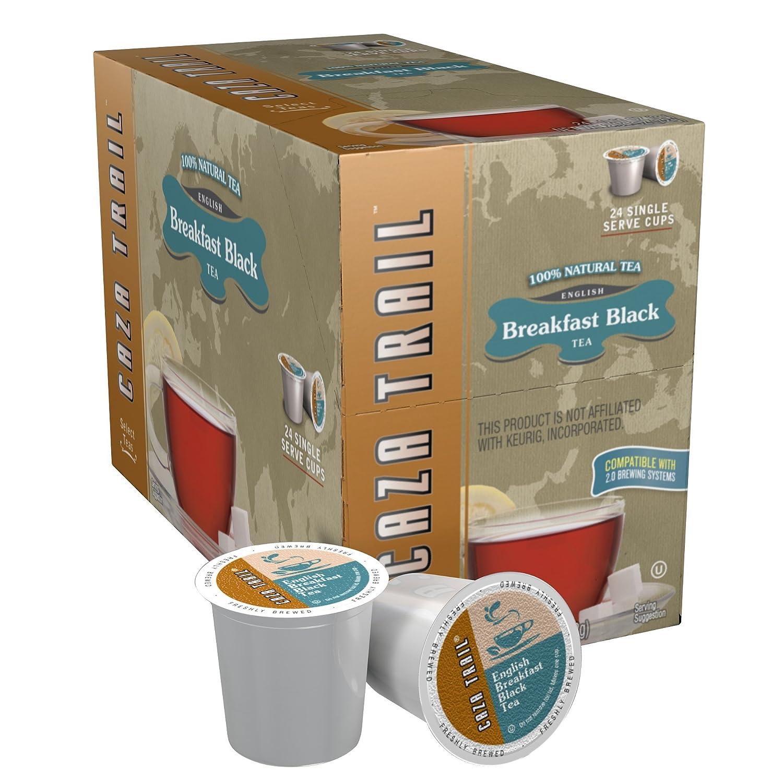 Caza Overseas parallel import regular item Trail Tea English Breakfast Serve Popularity Cup Black Single 24