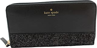 Neda Greta Court Leather Zip Around Continental Wallet