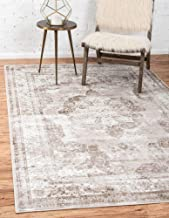 Beige And Light Brown Area Rug