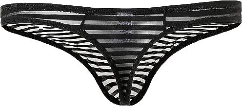 Perfect UNDIES Men's Sexy Transparent Thong Underwear Low Rise See Through PU0204