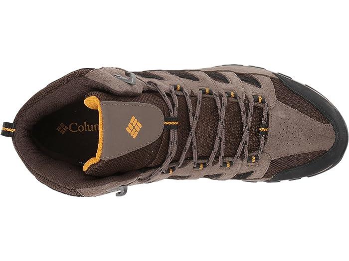 columbia men's crestwood mid waterproof hiking boots