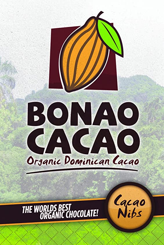 Gourmet Organic Cacao Nibs Direct from the Farm in the Beautiful Mountains of the Bonao region of the Dominican Republic. Our beans are the finest Criollo beans that are considered to be the most flavorful. What the fine Arabica bean is to coffee, the even finer and rarer Criollo bean is to chocolate. Criollo chocolate beans have a distinctly reddish color, and an equally distinctive complex taste which can include flavors of caramel, nuts and vanilla. Cacao nibs mood lifters! Organic Cacao Nibs are a real chocolate treat. Made from crushed Dominican organic cacao beans from Bonao Cacao, these raw nibs are the original unsweetened chocolate chip. Cocoa nibs are crunchy, flavorful, and packed with powerful nutrients and natural mood lifters. Try them straight, or sweeten with bananas and dates for a truly healthy chocolate. Perfect for mixing into smoothies or trail mixes. The possibilities are endless for this crunchy antioxidant pick me up. Nutrition Facts for Cocoa and Chocolate There have been many studies linking cocoa and dark chocolate with health benefits. Cocoa and chocolate contain a large amount of antioxidants (flavinoids). Cocoa and dark chocolate may keep high blood pressure down and reduce the blood's ability to clot, thus the risk of stroke and hart attacks may be reduced. The darker chocolate with the most concentrated cocoa will be the most beneficial. According to an Italian study, a small square (20 g) of dark (bittersweet) chocolate every three days is the ideal dose for cardiovascular benefits. Eating more does not provide additional benefits. (10)