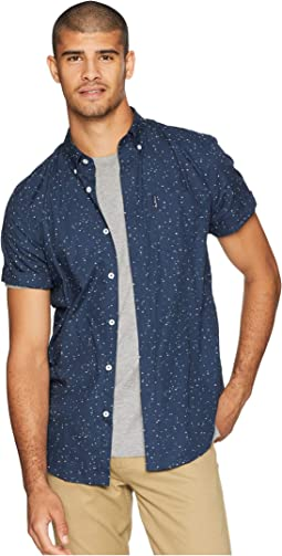 Short Sleeve Splash Print Shirt