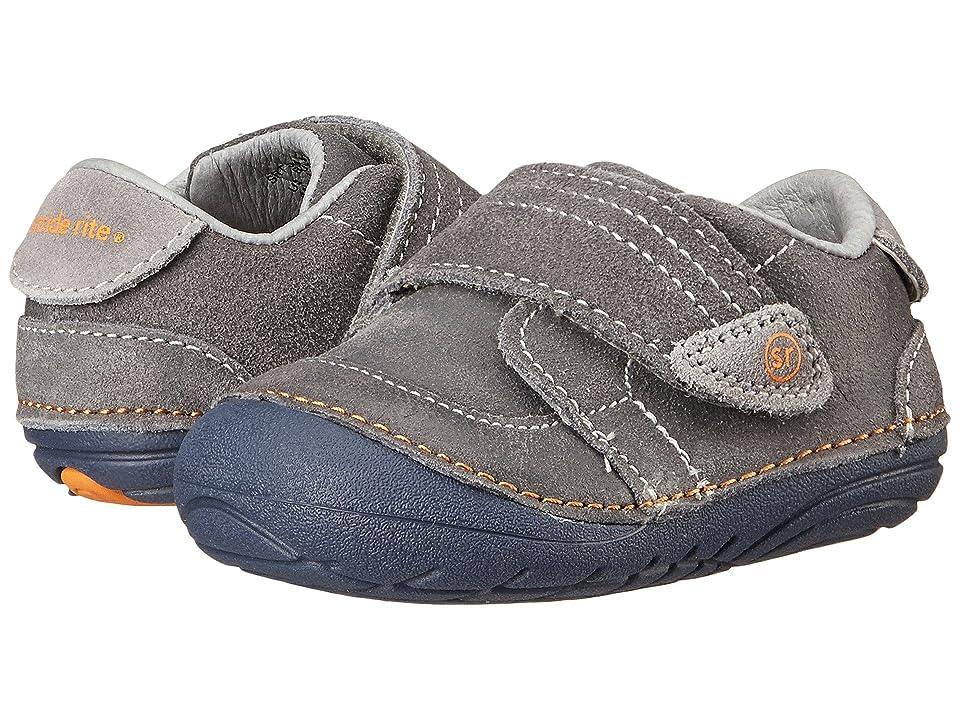 Stride Rite SM Kellen (Infant/Toddler) (Grey) Boys Shoes