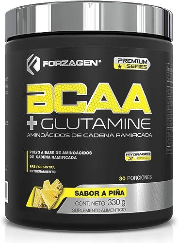 Forzagen BCAA + Glutamine   Aminoácidos de Cadena Ramificada (BCAA 2:1:1) + L-Glutamina   Con Complejo de Hidratación...