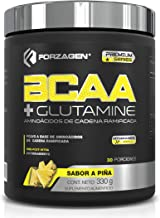 Forzagen BCAA + Glutamine   Aminoácidos de Cadena