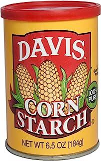 Davis Corn Starch - 6.5 oz can