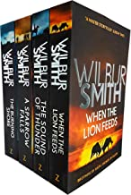 The Courtney Series, 4 Books Collection Set -1 To 4 (When The Lion Feeds, The Sound Of Thunder, A Sparrow Falls, The Burning Shore)