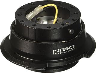 NRG Innovations SRK-280BK Quick Release Kit (Black/Black Ring)