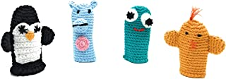 Cuddoll The Finger Puppets | Puppet Set |100% Organic Cotton Yarn | 100% Hand Knitted Handmade | Without Any Harmful and Detachable Parts | Made in Turkey by Moms with Love (The Splashers)