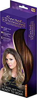 Secret Extensions - Hair Extensions by Daisy Fuentes, Medium Red Brown