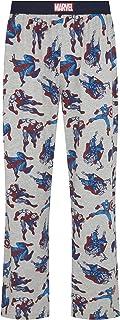 Marvel Comics Hero Grey Lounge Pant Pyjama Bottoms by Re:Covered
