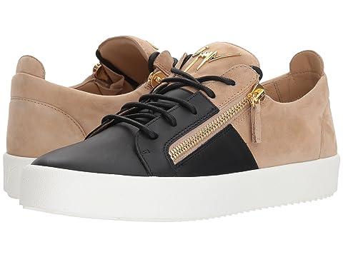 Giuseppe Zanotti May London Color Block Low Top Sneaker