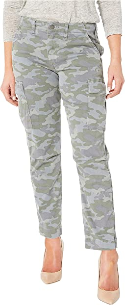 Jane Slim Cargo in Surplus Camo